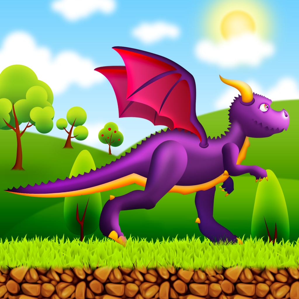 A Dragon Run - A Race to the Magic Castle Game